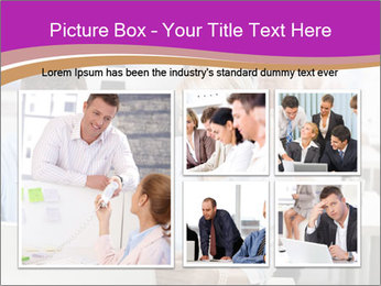 Young business people PowerPoint Templates - Slide 19