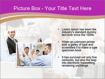 Young business people PowerPoint Templates - Slide 20