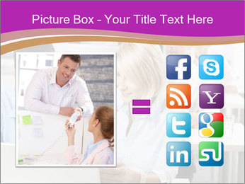 Young business people PowerPoint Templates - Slide 21