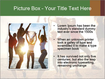 Group of happy young people PowerPoint Templates - Slide 13