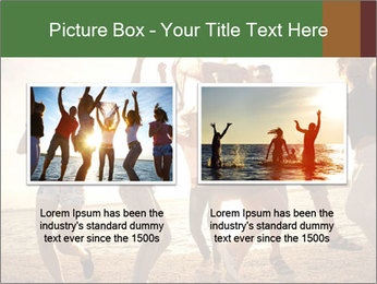 Group of happy young people PowerPoint Templates - Slide 18