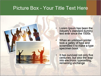 Group of happy young people PowerPoint Templates - Slide 20