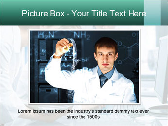 Group of scientists working PowerPoint Templates - Slide 15