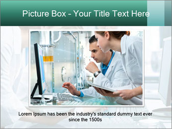 Group of scientists working PowerPoint Templates - Slide 16