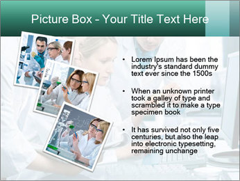 Group of scientists working PowerPoint Templates - Slide 17