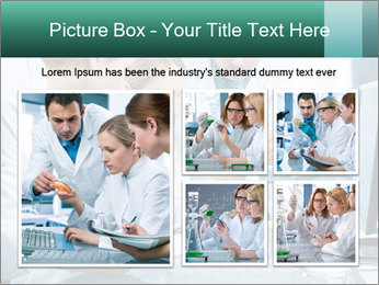 Group of scientists working PowerPoint Templates - Slide 19