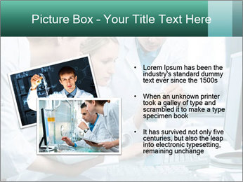 Group of scientists working PowerPoint Templates - Slide 20