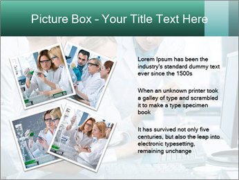 Group of scientists working PowerPoint Templates - Slide 23