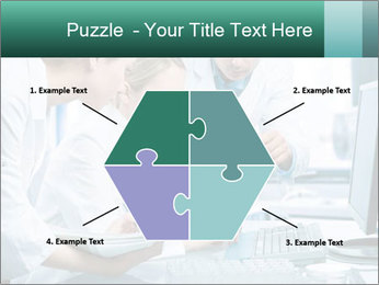Group of scientists working PowerPoint Templates - Slide 40