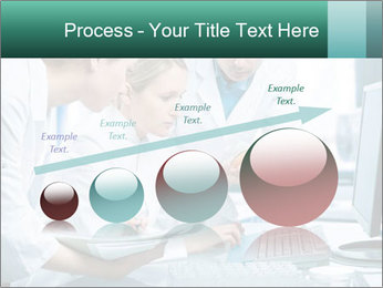 Group of scientists working PowerPoint Templates - Slide 87