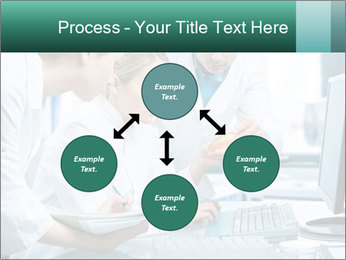 Group of scientists working PowerPoint Templates - Slide 91