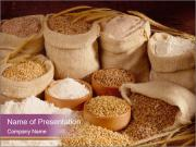 Wheat PowerPoint Templates