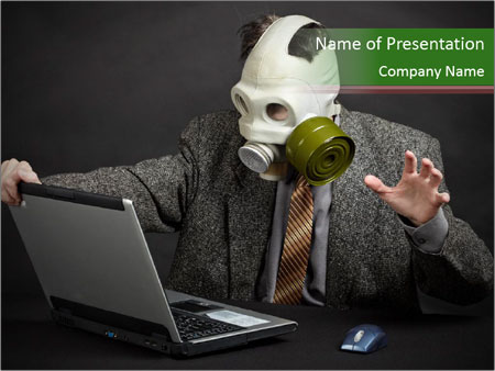 Ecological disaster PowerPoint Templates