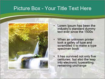 Rocks and stream PowerPoint Templates - Slide 13