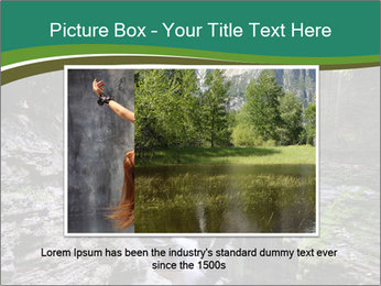 Rocks and stream PowerPoint Templates - Slide 16
