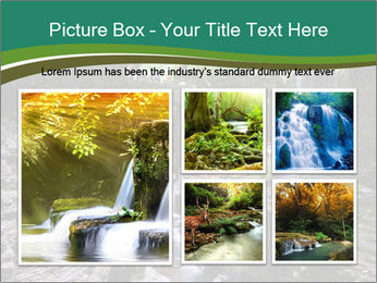 Rocks and stream PowerPoint Templates - Slide 19