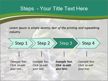 Rocks and stream PowerPoint Template - Slide 4