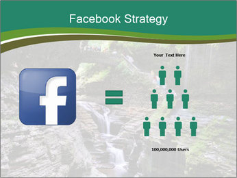 Rocks and stream PowerPoint Template - Slide 7
