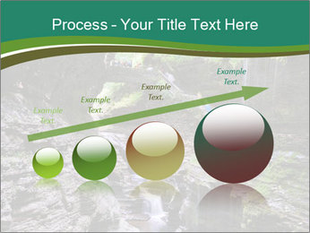 Rocks and stream PowerPoint Template - Slide 87