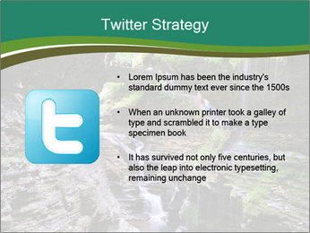 Rocks and stream PowerPoint Template - Slide 9