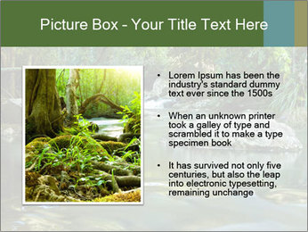 Purling falls PowerPoint Template - Slide 13