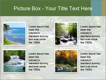 Purling falls PowerPoint Template - Slide 14