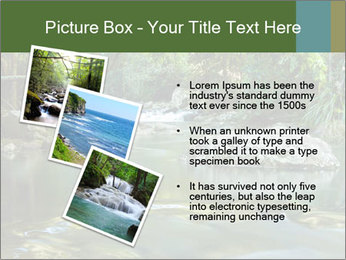 Purling falls PowerPoint Template - Slide 17