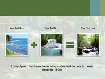 Purling falls PowerPoint Template - Slide 22
