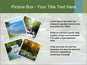 Purling falls PowerPoint Template - Slide 23