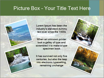 Purling falls PowerPoint Template - Slide 24