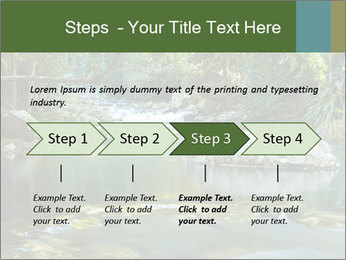 Purling falls PowerPoint Template - Slide 4
