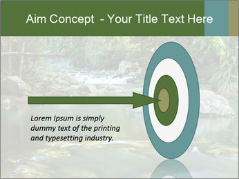 Purling falls PowerPoint Template - Slide 83