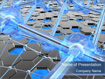 Nanostructures PowerPoint Template - Slide 1