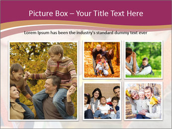 Grandfather keeps his grandson PowerPoint Template - Slide 19
