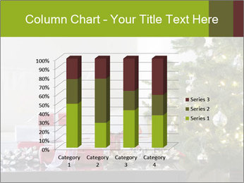 Red and white presents by christmas tree PowerPoint Templates - Slide 50