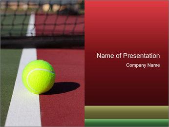 Tennis ball PowerPoint Templates - Slide 1