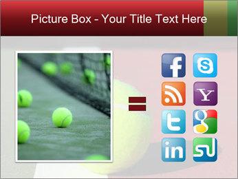 Tennis ball PowerPoint Templates - Slide 21
