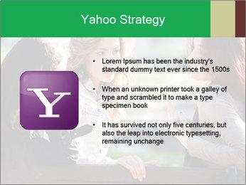 Girlfriends talking PowerPoint Template - Slide 11