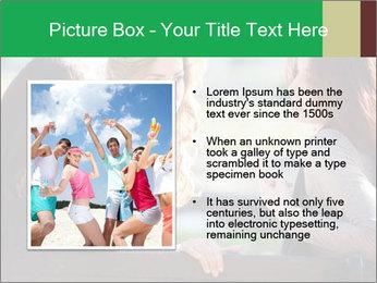 Girlfriends talking PowerPoint Template - Slide 13