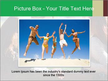 Girlfriends talking PowerPoint Template - Slide 16