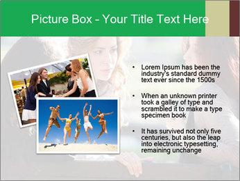 Girlfriends talking PowerPoint Template - Slide 20