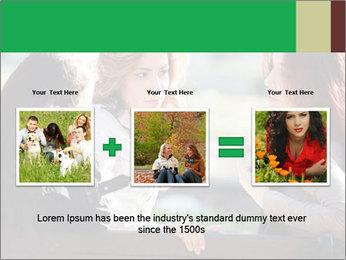 Girlfriends talking PowerPoint Template - Slide 22