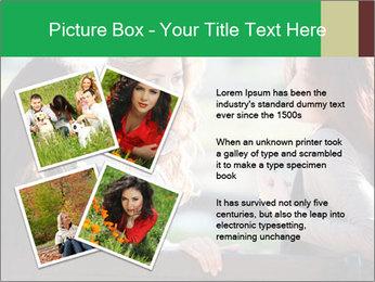 Girlfriends talking PowerPoint Template - Slide 23