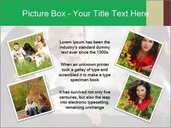 Girlfriends talking PowerPoint Template - Slide 24