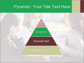 Girlfriends talking PowerPoint Template - Slide 30