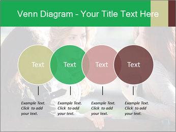 Girlfriends talking PowerPoint Template - Slide 32
