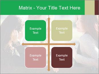 Girlfriends talking PowerPoint Template - Slide 37