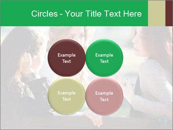 Girlfriends talking PowerPoint Template - Slide 38