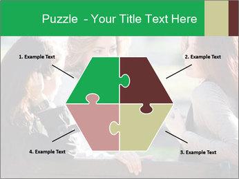 Girlfriends talking PowerPoint Template - Slide 40