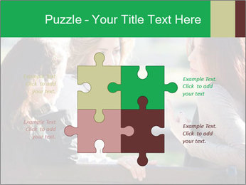 Girlfriends talking PowerPoint Template - Slide 43